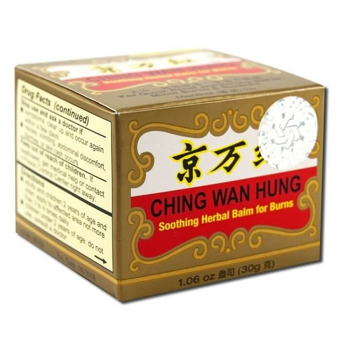 Ching Wan Hung - Soothing Herbal Balm for Burns (1.06 oz)-Buy at New Green Nutrition