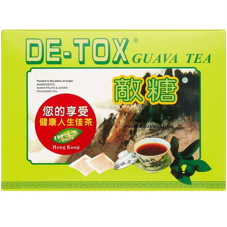De-Tox Guava Tea (2.5g X 90 Teabags)-Buy at New Green Nutrition
