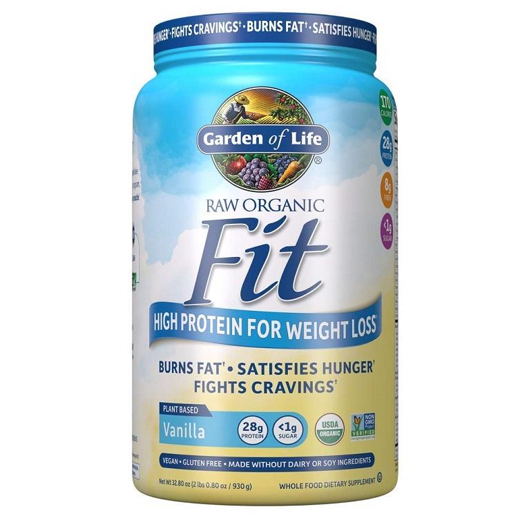Garden of Life Raw Organic Fit For Weight Loss Vanilla Flavor (32.8 oz.)-Garden of Life
