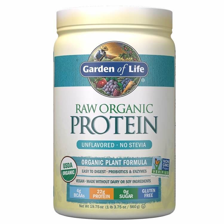 Garden of Life Raw Organic Protein Unflavored Powder (19.75 oz.)-Garden of Life