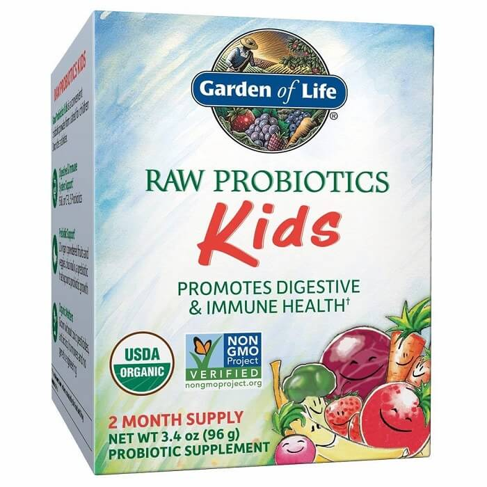 Garden of Life Raw Probiotics Kids Digestive Powder (96 Grams)-Garden of Life