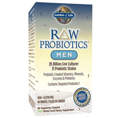 Garden of Life Raw Probiotic for Men (90 Veggie Caps)-Garden of Life