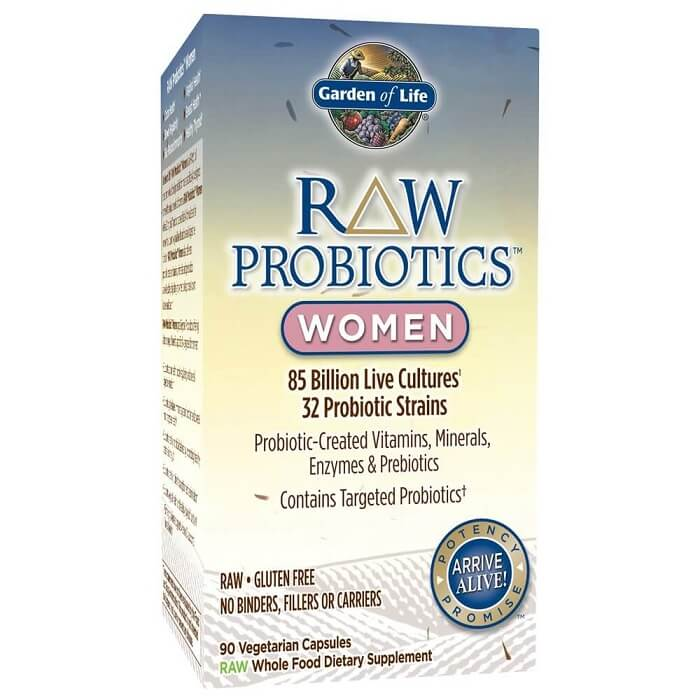 Garden of Life Raw Probiotic for Women (90 Veggie Caps)-Garden of Life