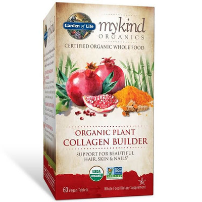 Garden of Life mykind Organics Organic Plant Collagen Builder (60 Vegan Tablets)-Garden of Life