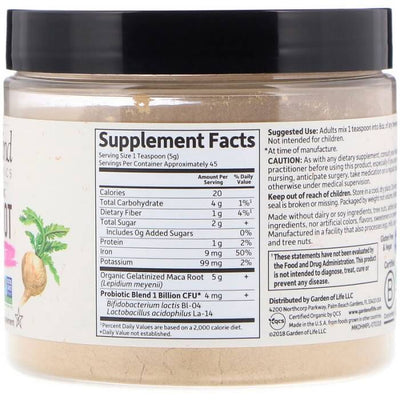 Garden of Life mykind Organics Gelatinized Peruvian Maca Root 7.93 oz (225g)-Buy at New Green Nutrition