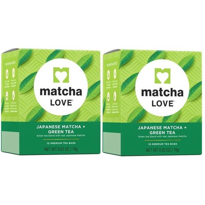 2 Boxes of Matcha Love Japanese Mactha Green Tea (10 Teabags)-Matcha Love