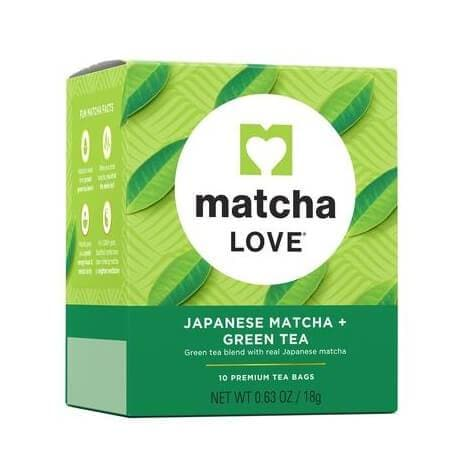 2 Boxes of Matcha Love Japanese Mactha Green Tea (10 Teabags)-Buy at New Green Nutrition