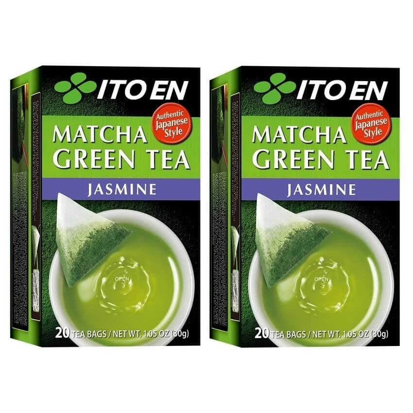 2 Boxes of Ito En Matcha Jasmine Green Tea (20 Teabags)-Buy at New Green Nutrition
