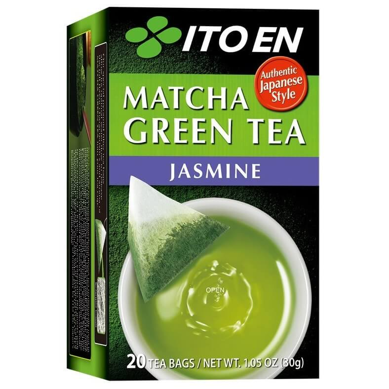 8 Boxes of Ito En Matcha Jasmine Green Tea (20 Teabags)-Buy at New Green Nutrition