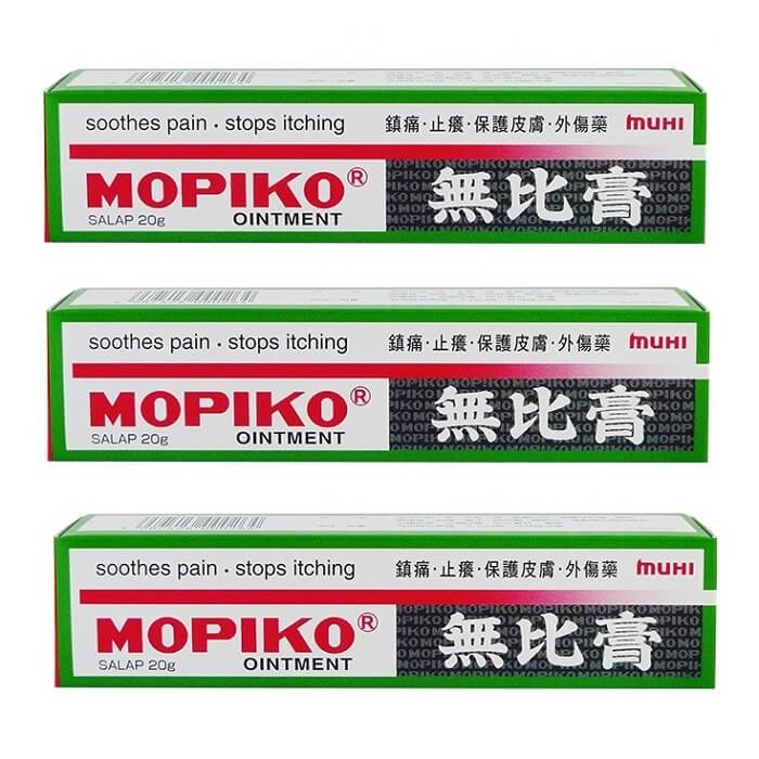 3 Boxes Muhi Mopiko Ointment (20g)-Buy at New Green Nutrition
