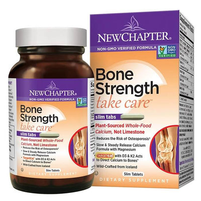 New Chapter Bone Strength Take Care (120 Slim Tablets)-Buy at New Green Nutrition