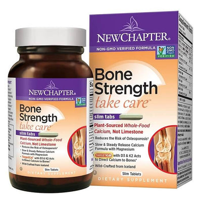 New Chapter Bone Strength Take Care (60 Slim Tablets)-New Chapter