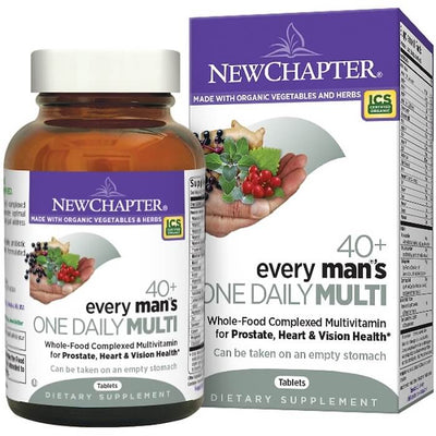 New Chapter Every Man's One Daily 40+ (48 Veggie Tablets)-New Chapter