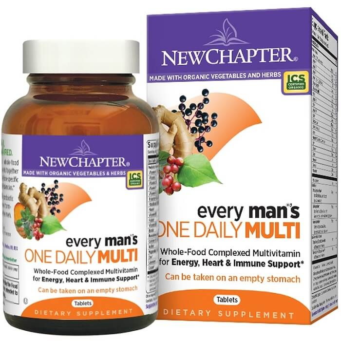 New Chapter Every Man's One Daily (48 Veggie Tablets)-New Chapter
