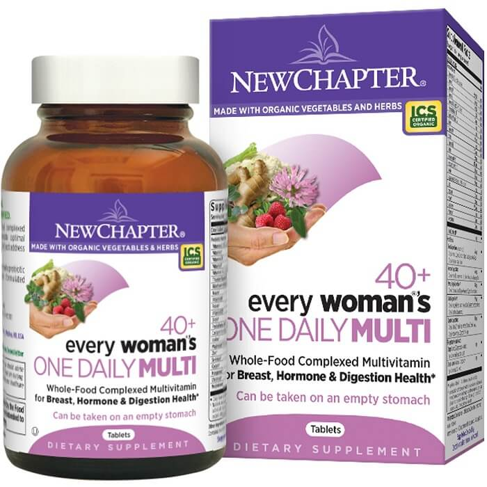 New Chapter Every Woman's One Daily 40+ (48 Veggie Tablets)-Buy at New Green Nutrition