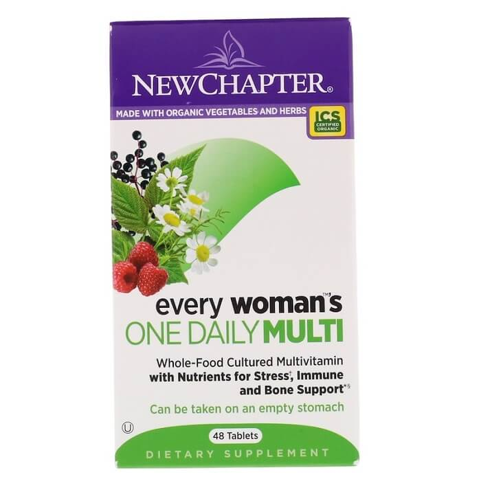 New Chapter Every Woman's One Daily (48 Veggie Tablets)-New Chapter
