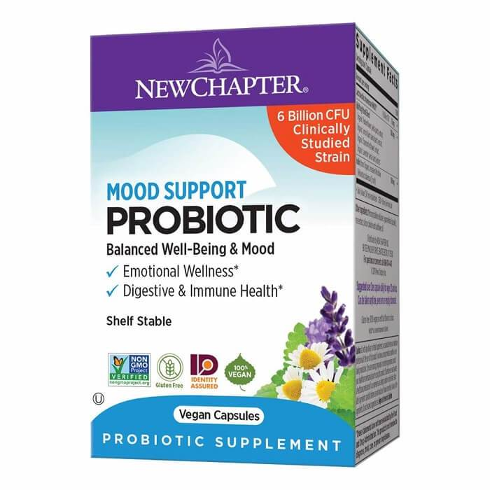 New Chapter Mood Support Probiotic (30 Vegan Capsules)-New Chapter