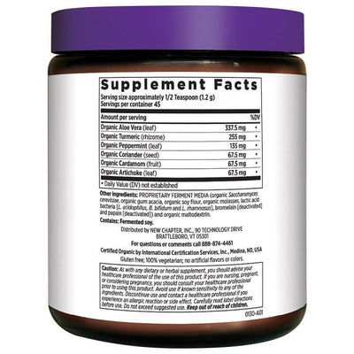 New Chapter Organic Fermented Aloe Powder (1.9oz, 45 Servings)-Buy at New Green Nutrition