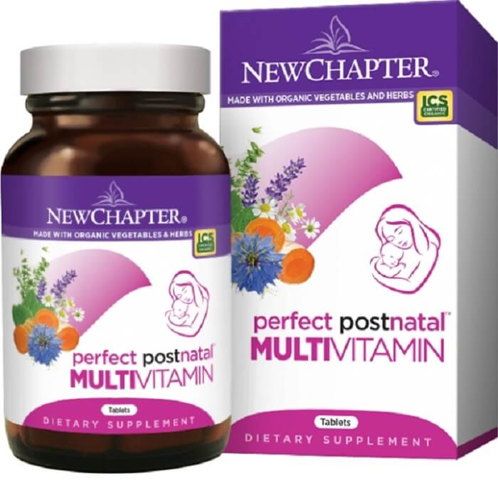 New Chapter Perfect Posnatal Vitamins (48 Veggie Tablets)-New Chapter