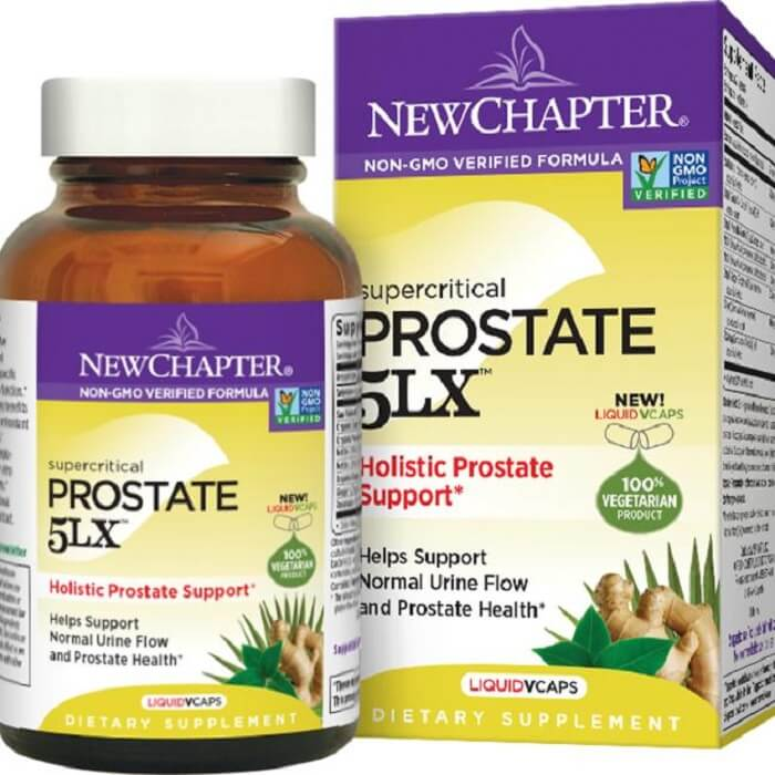 New Chapter Prostate 5LX (60 Veggie Tablets)-Buy at New Green Nutrition