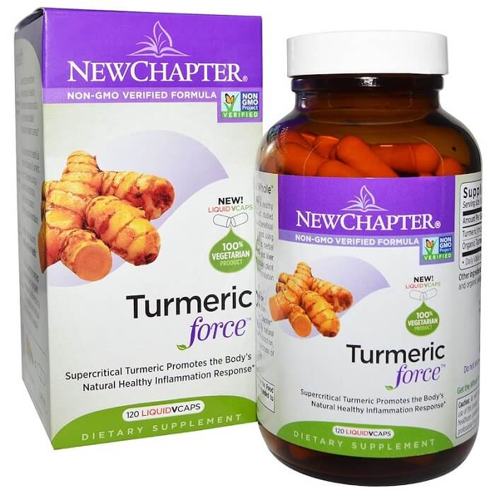 New Chapter Tumeric Force (120 Veggie Capsules)-New Chapter