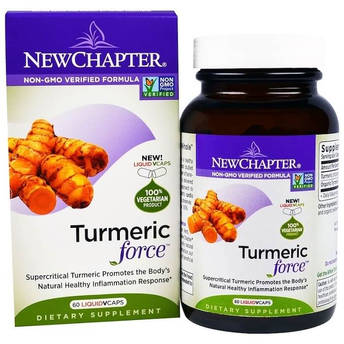 New Chapter Tumeric Force (60 Veggie Capsules)-Buy at New Green Nutrition