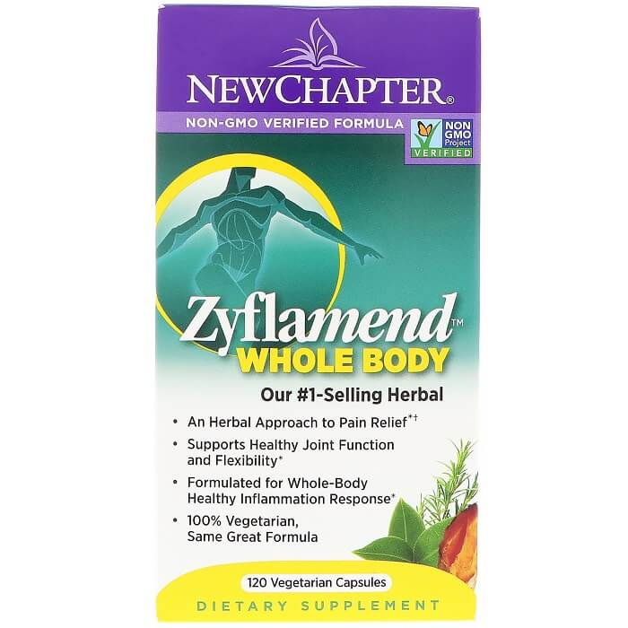 New Chapter Zyflamend (120 Veggie Capsules)-Buy at New Green Nutrition