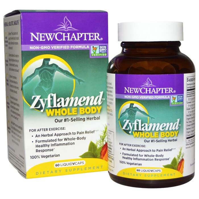 New Chapter Zyflamend (60 Veggie Capsules)-Buy at New Green Nutrition