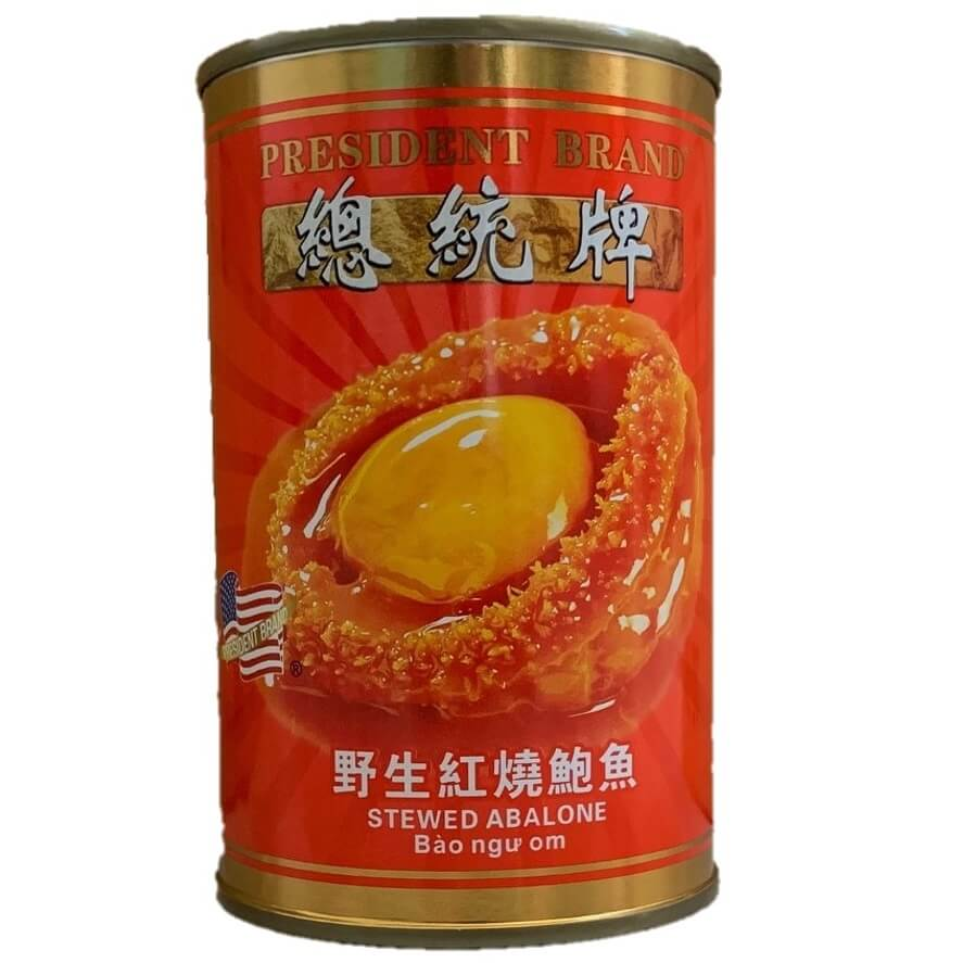 President Brand Stewed Abalone (15oz.)-Buy at New Green Nutrition