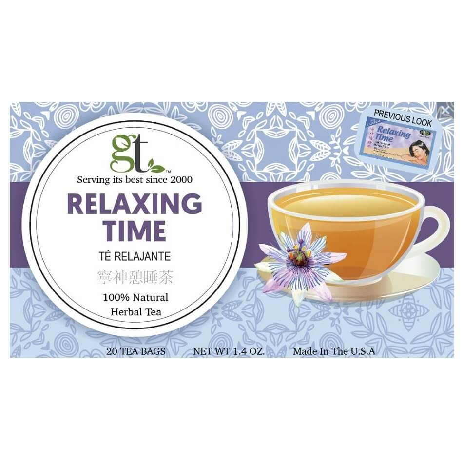Relaxing Time Herbal Tea (20 Tea Bags)-Buy at New Green Nutrition