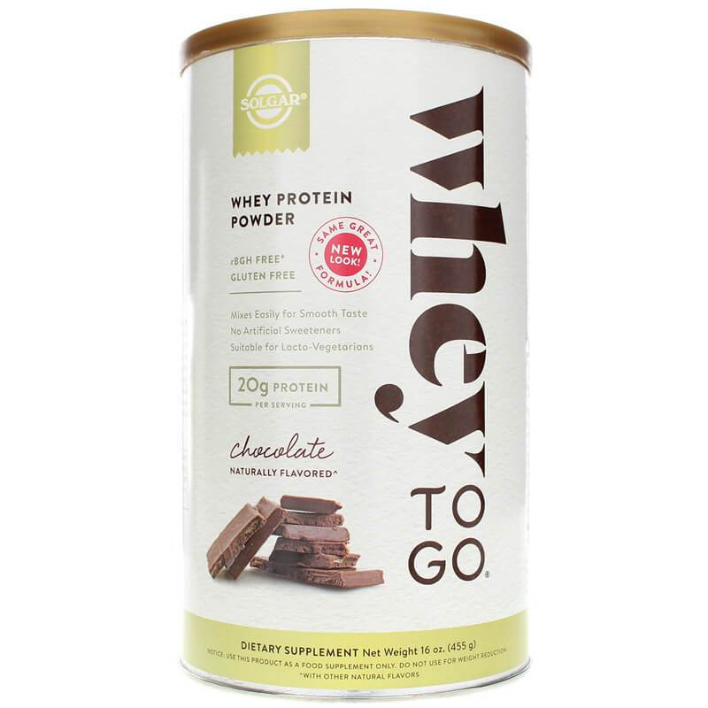 Solgar Whey To Go Whey Protein Powder Chocolate (16 oz)-Buy at New Green Nutrition