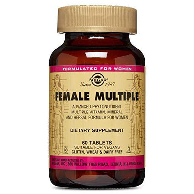 Solgar Female Multiple (60 Tablets)-Solgar