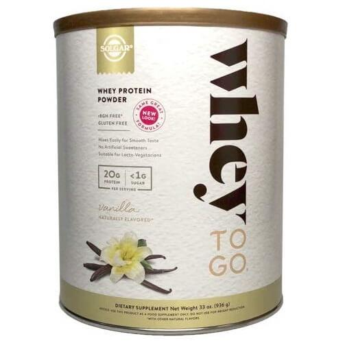 Solgar Whey To Go Whey Protein Powder Vanilla (32 oz)-Buy at New Green Nutrition