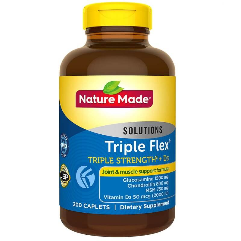 Nature Made TripleFlex Triple Strength (200 Caplets)-Buy at New Green Nutrition