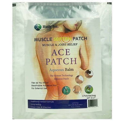 Meditalent Pain Goodbye 2nd Generation Ace Patch Aqueous Balm (5 Plasters)-Buy at New Green Nutrition