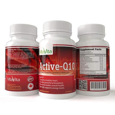 Active Q10 with Korean Ginseng, Hawthorn Berry & Salvia Root-Buy at New Green Nutrition