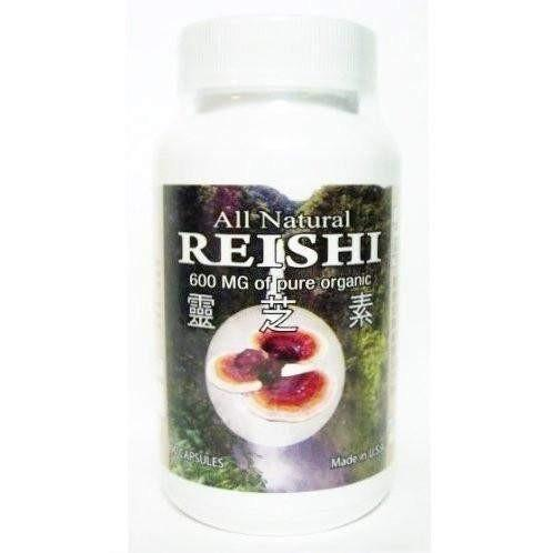 All Natural Reishi (90 Capsules)-All Natural Nutrition