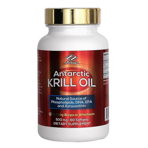 Antarctic Krill Oil 500 mg (60 Softgels)-Buy at New Green Nutrition