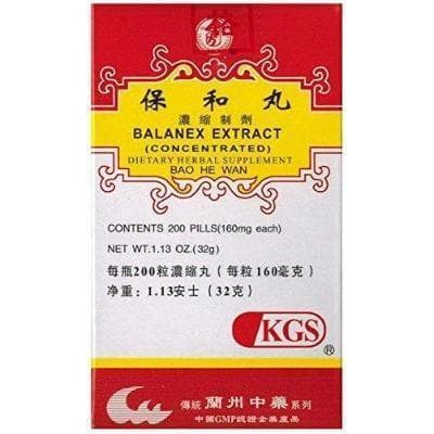 Balanex Extract (Bao He Wan) 160mg (200 Pills)-Buy at New Green Nutrition