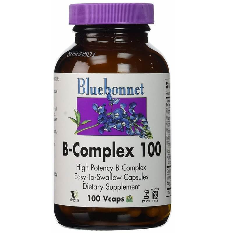 Bluebonnet B-Complex (100 Veggie Capsules)-Buy at New Green Nutrition