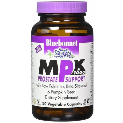 Bluebonnet MPX 1000 Prostate Support (120 Veggie Capsules)-Buy at New Green Nutrition