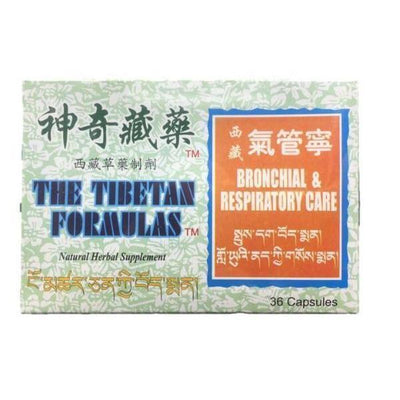 Bronchial& Respiratory Care (36 Capsules)-The Natural Tibetan Formulas-Buy at New Green Nutrition