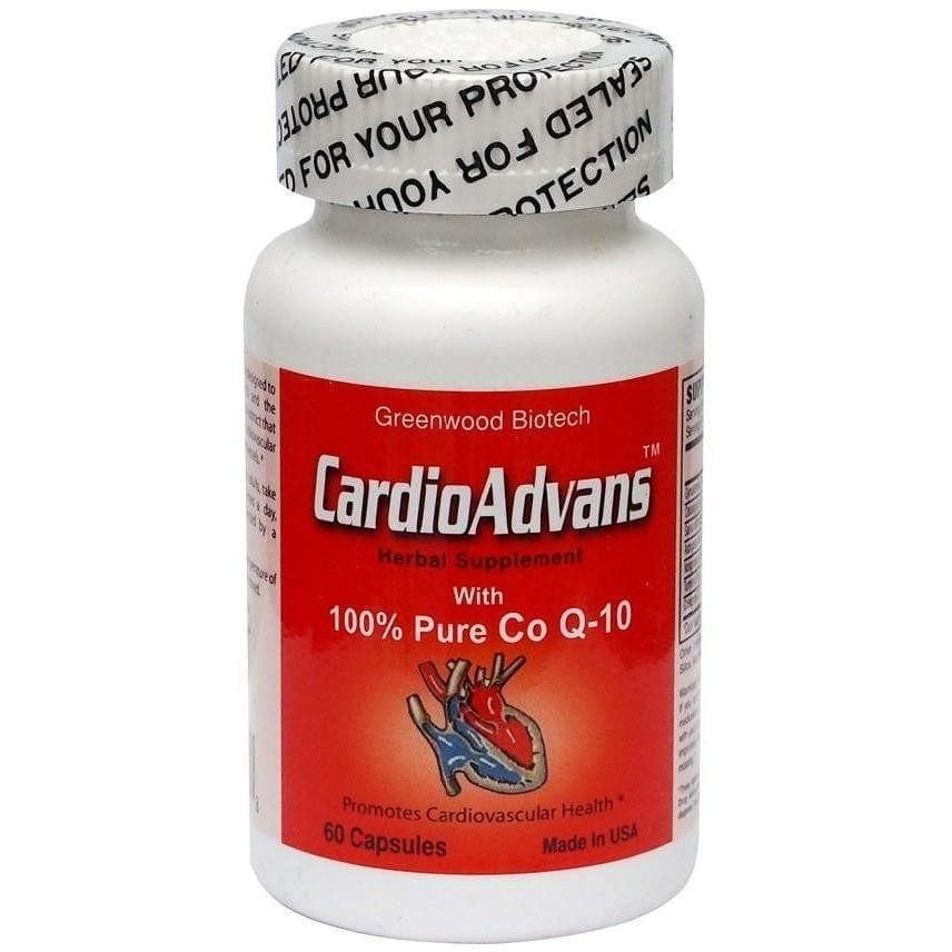 CardioAdvans (60 Capsules)-Buy at New Green Nutrition