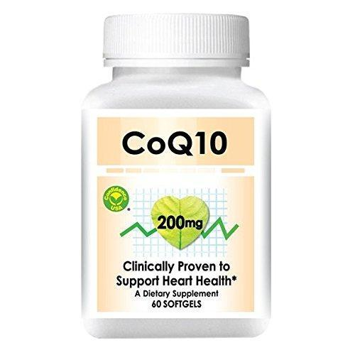 Confidence CoQ10, (Coenzyme Q 10) 200 mg (60 Softgels)-Buy at New Green Nutrition