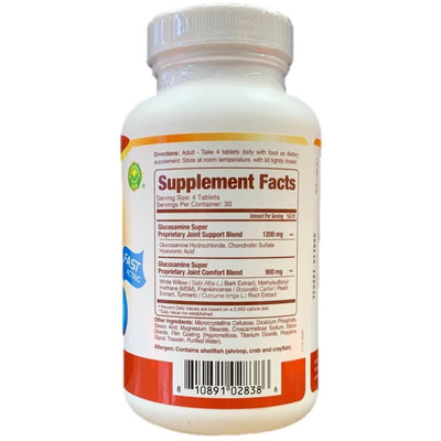 Confidence Glucosamine Plus Super (120 Tablets)-Buy at New Green Nutrition