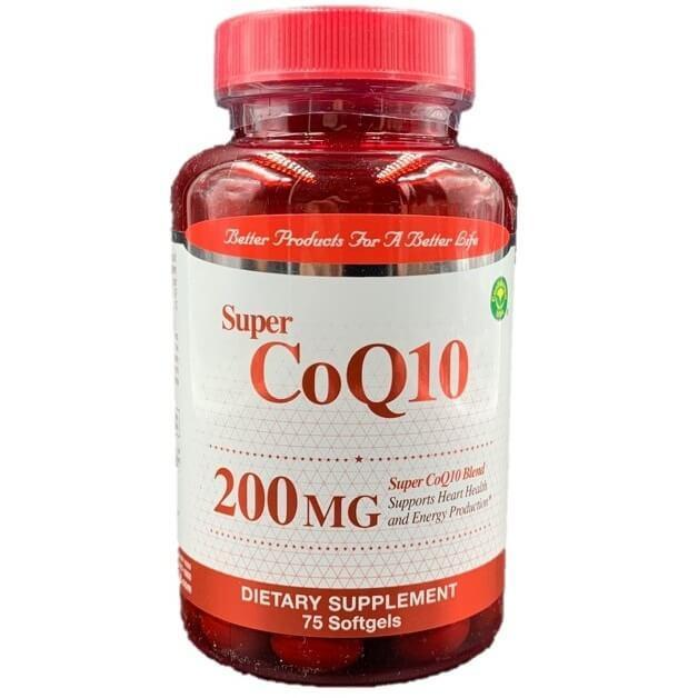 Confidence Super CoQ10 200 mg (75 Softgels)-Confidence USA