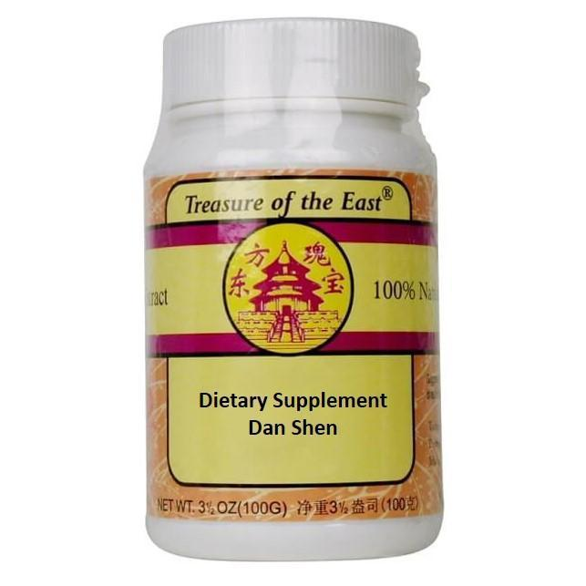 Dan Shen (Salvia Root) Granules 5:1 Concentration (100 Grams)-Buy at New Green Nutrition