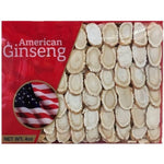 Hand Selected A Grade American Ginseng Slice Medium Size (4 Oz. Box)-New Green Nutrition