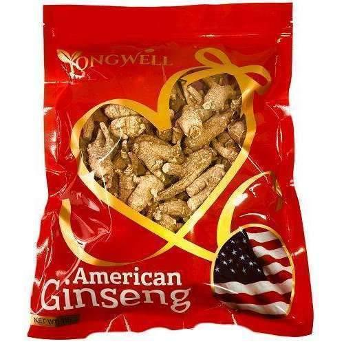 Hand-Selected American Ginseng Root- Medium Size Original Root (Gift Bag)-New Green Nutrition
