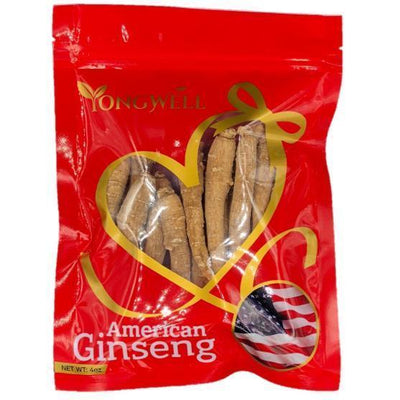 Hand-selected American Ginseng Root Medium Thin-Short Size (Gift Bag)-New Green Nutrition